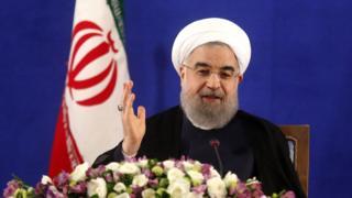 اولین نشست خبری حسن روحانی