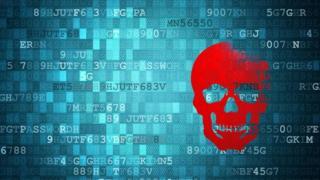 Artist's concept of malware