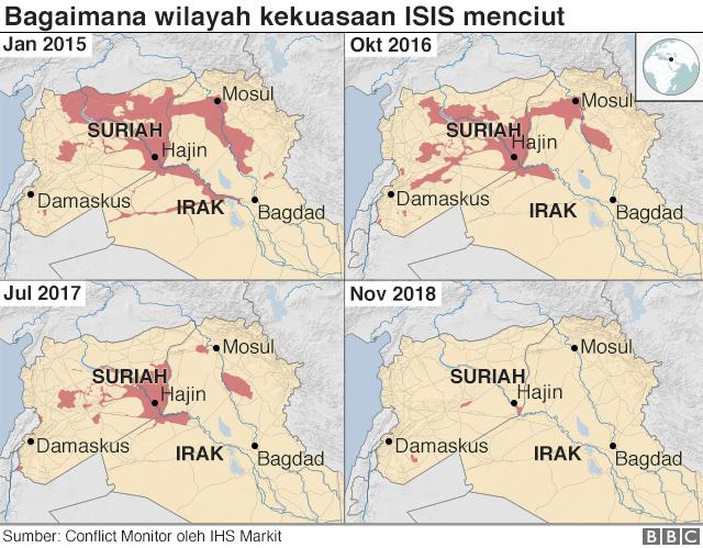 peta kekuasaan ISIS