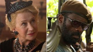 Helen Mirren and Idris Elba
