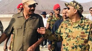 Leaders o f Eritrea and Ethiopia