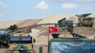 İdlib'deki TSK araçları