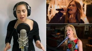 Lady Gaga, Jennifer Lopez and Sheryl Crow