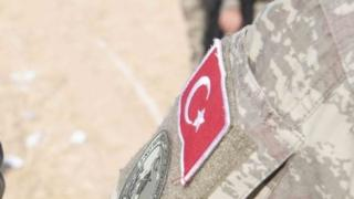 Turkish military ensign. File photo