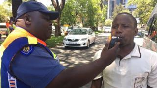 проверка на дорогах в ЮАР