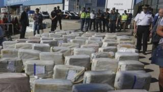165 box of cocaine wey dem sieze