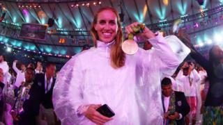 Helen Glover in Rio