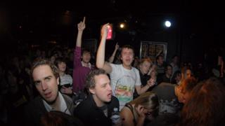Audience at the Barfly in Camden