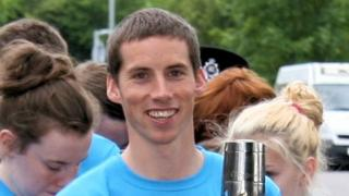 Commonwealth distance runner Andy Davies.