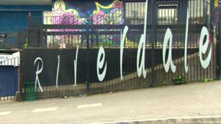 Riverdale fence