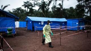 Cudurka Ebola oo ka dillaacay JD Kongo