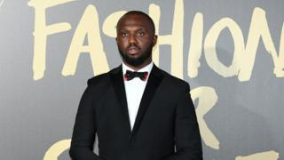 Picture of Headie One on the red carpet