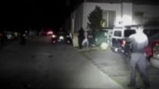 Policiais atiram em suspeito