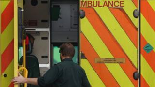 open ambulance door