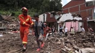 Çində Lekima qasırğası