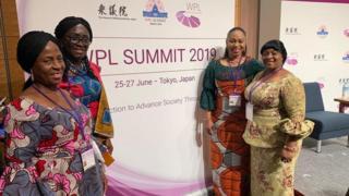 Deputy Majority Leader den Chairperson for Parliament Women Caucus, Sarah Adwoa Safo 2019 Women Political Leaders (WPL) Summit for Tokyo, Japan