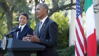 Барак Обама и Маттео Ренци провели переговоры в Белом доме
