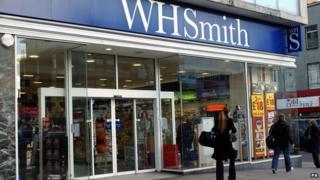A WH Smith shop