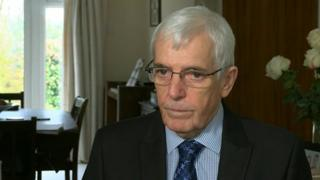 The former chair of a hospital trust Peter Carter
