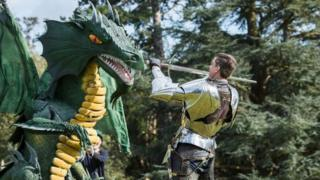 Jorge matando dragão