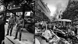 Прага, 21 августа 1968 года