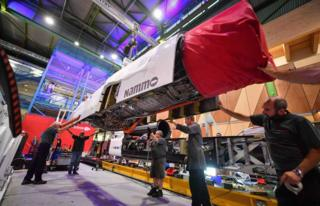 Bloodhound diary: South African trials get under way