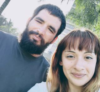 Alexis Granados and her husband
