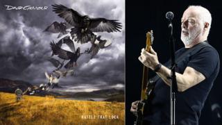 David Gilmour and his award-winning album cover