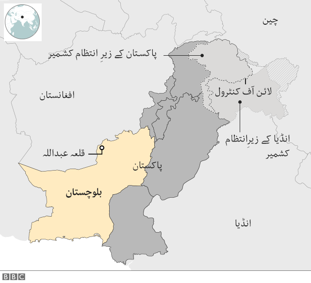 نقشہ پاکستان