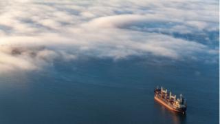 environment ship at sea