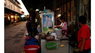 на улице в центре Бангкока