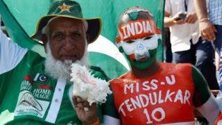 भारत पाकिस्तान क्रिकेट प्रशंसक