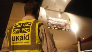 UK aid worker