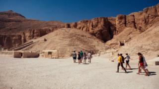Туристи у Єгипті