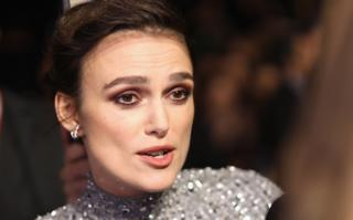 Keira Knightley at the BFI London Film Festival