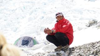 Kumar, a Sherpa who died at Base Camp
