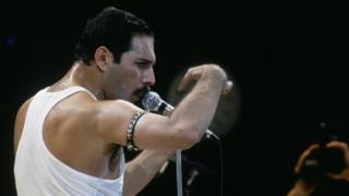 Меркьюри на концерте Live Aid
