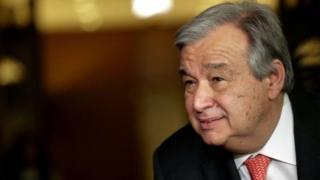 Antonio Guterres, 67 ans, est un socialiste modéré, catholique et pro-européen.