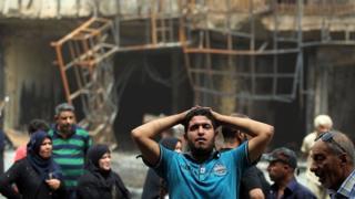 Sobrevivente de atentado em Bagdá