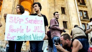 Гражданские активисты в Грузии