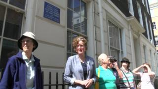 Guided walk visiting Blue Plaques