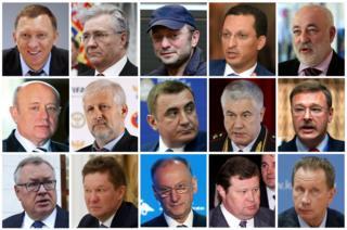 مسؤولون روس تشملهم العقوبات الأمريكية الجديدة