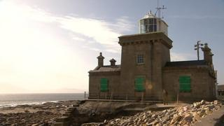 The search for the black box is focused in waters around Blacksod lighthouse