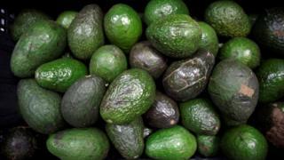 Avocados in Mexico City