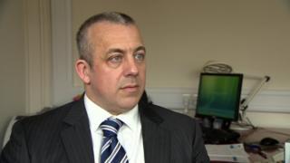 PSNI Detective Inspector Neil McGuinness