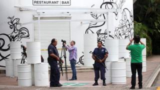 El secuestro sucedió en un conocido restaurante en la avenida principal de Puerto Vallarta.