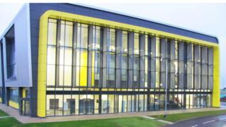 AIRC building at Cranfield University