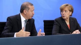 Erdogan iyo Merkel