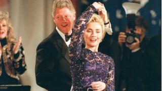 Инаугурационный бал четы Клинтон