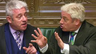 John Bercow in the House of Commons